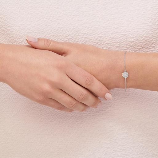 Diamond Essentials Ασημένιο βραχιόλι με διαμάντια-