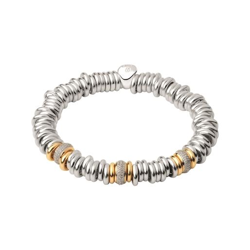 Sweetie 25 Years 18kt Gold & Diamond Bead Bracelet-