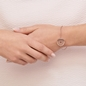Timeless Ασημένιο βραχιόλι με ροζ επιχρύσωση-