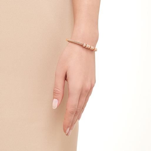 Starlight 18kt Rose Gold Vermeil & Sapphire Coronet Bracelet-
