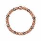 Sweetheart 18kt Rose Gold Vermeil, White Topaz & Black Rhodium Bracelet-