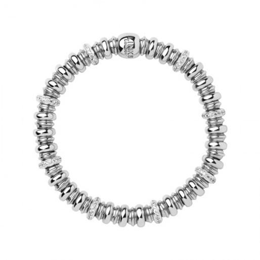 Sweetheart Ασημένιο βραχιόλι με διαμάντια-