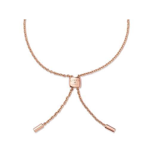 Diamond Heart Βραχιόλι από ροζ χρυσό 14 καρατίων και διαμάντια-