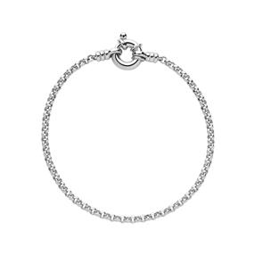 Sterling Silver Mini Belcher Bracelet-