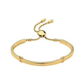 Narrative 18kt gold-vermeil bracelet-