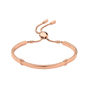 Narrative 18kt rose gold-vermeil bracelet-