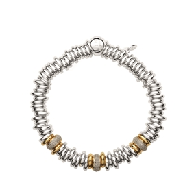 Sweetie 25 Years 18kt Gold & Diamond Bead Bracelet-