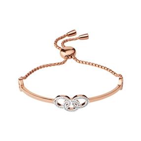 Signature 18kt Rose Gold Vermeil & Sapphire Bracelet-