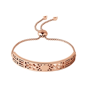 Timeless 18kt Rose Gold Vermeil Toggle Bracelet-