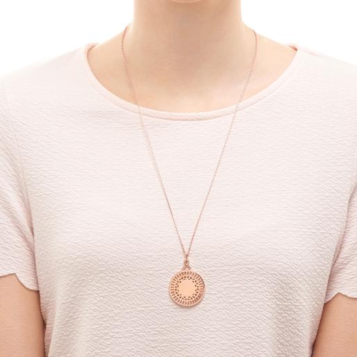 Timeless 18kt Rose Gold Vermeil Necklace-