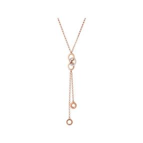 Signature 18kt Rose Gold Vermeil & Sapphire Necklace-
