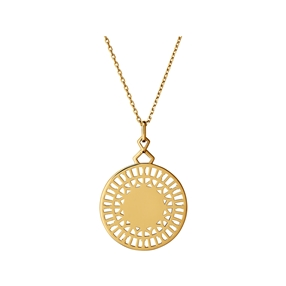 Timeless 18kt Yellow Gold Vermeil Necklace-