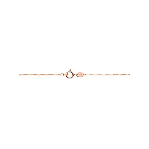 Essentials Αλυσίδα από ροζ χρυσό 18 καρατίων 45 εκατοστών-