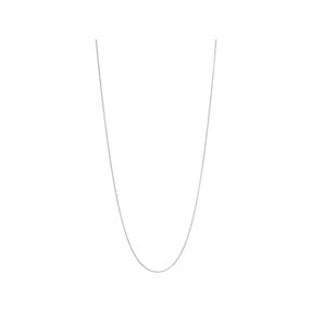Essentials Sterling Silver 1.2mm Cable Chain 60cm-