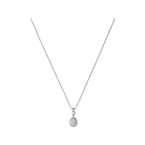 Hope Sterling Silver & White Topaz Necklace-