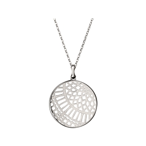 Timeless Sterling Silver Large Arch Necklace-