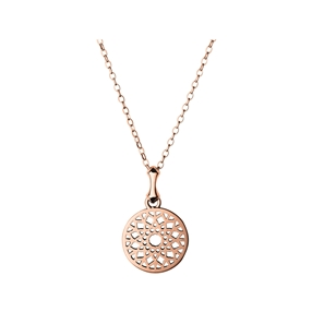 Timeless 18kt Rose Gold Vermeil Small Necklace-