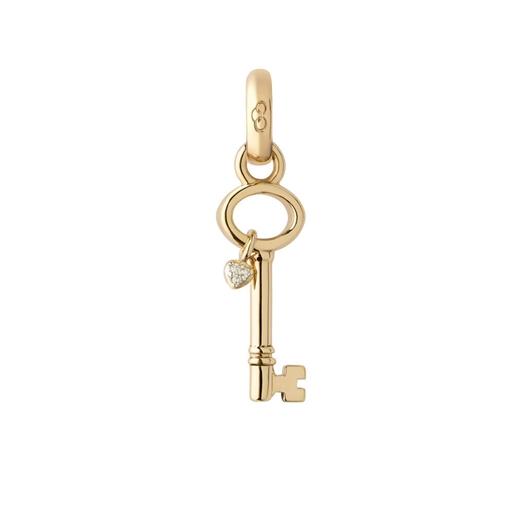 Keepsakes Key To My Heart Charm απο χρυσό 18 καρατίων και διαμάντια -
