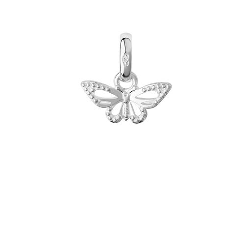 Charm Πεταλούδα από ασήμι-