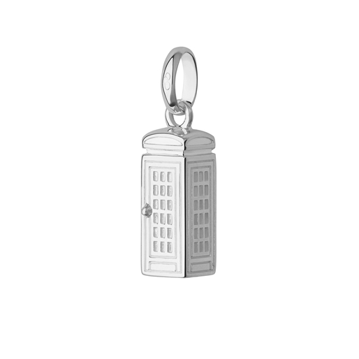 Charm Τηλεφωνικός θάλαμος Λονδίνου από ασήμι-