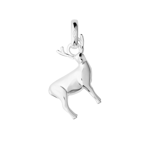 Sterling Silver Stag Woodland Charm-