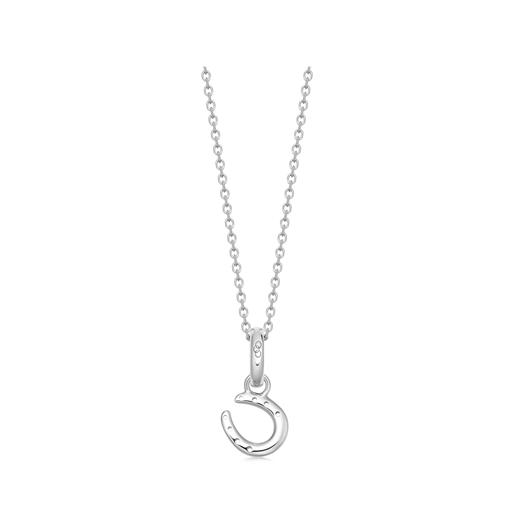Ascot Sterling Silver Horseshoe Charm-