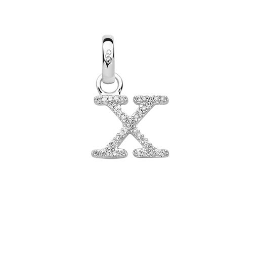 Charm Ασημένιο με Διαμάντια - X-