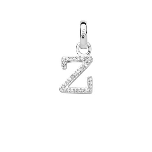 Charm Ασημένιο με Διαμάντια - Z-