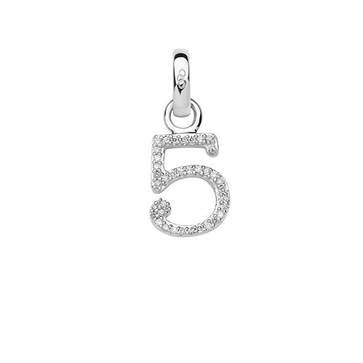 Charm Ασημένιο με Διαμάντια - 5-