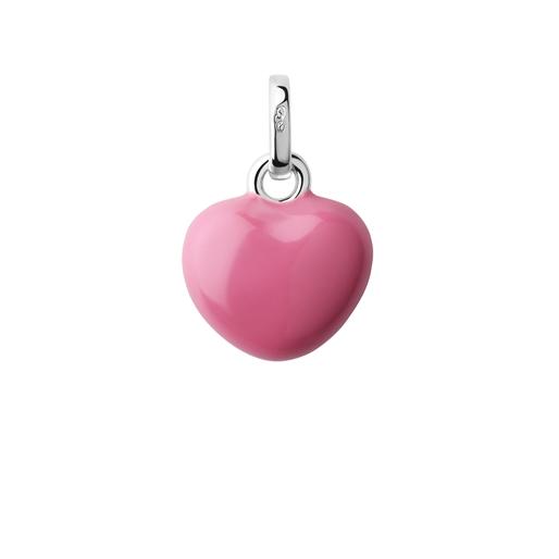 Charm Καρδιά από ασήμι και σμάλτο-