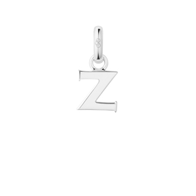 Sterling Silver Z Letter Charm-