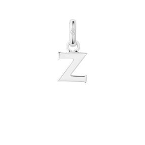 Charm Ασημένιο με το γράμμα Z-