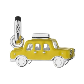 Yellow Taxi Charm-