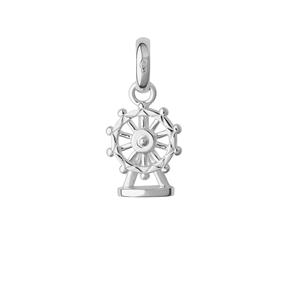 Sterling Silver London Eye Charm-
