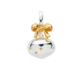 Sterling Silver & 18K Yellow Gold Vermeil Bauble Charm-