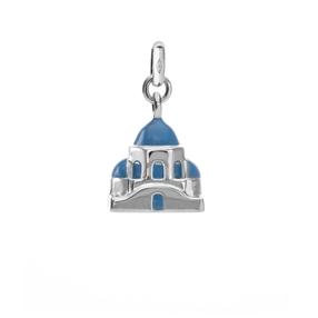 The Greek Cycladic Church charm-