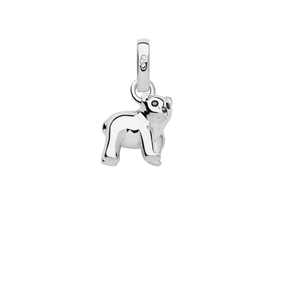 Sterling Silver Polar Bear Charm-