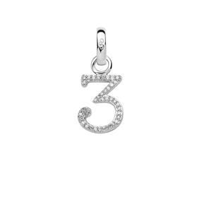 Charm Ασημένιο με Διαμάντια - 3-