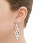 Hope ασημένια κρεμαστά σκουλαρίκια-