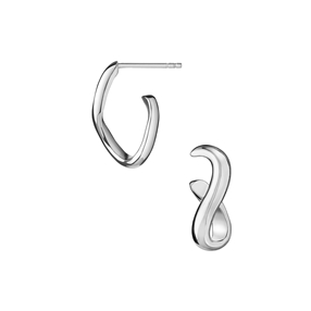 Essentials Sterling Silver Infinite Stud Earrings-