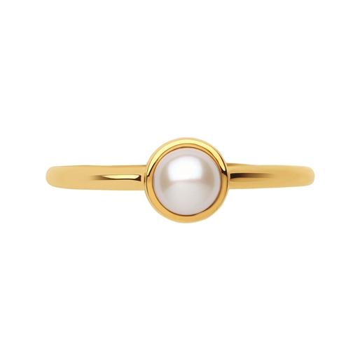 Hope Χρυσό Δαχτυλίδι 18 καρατίων με μαργαριτάρι-