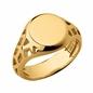 Timeless Ασημένιο δαχτυλίδι με επιχρύσωση 18 καρατίων-