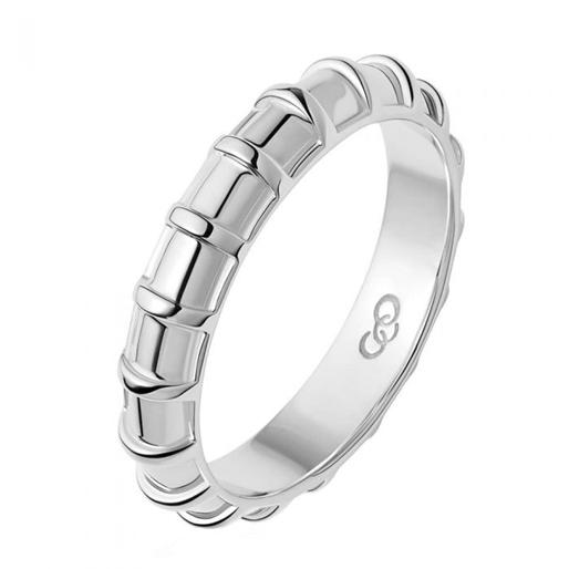 Brutalist Ασημένιο δαχτυλίδι-