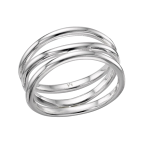 Essentials Infinite Triple Fix Ring-