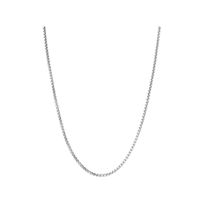 Essentials Sterling Silver Mini Box Belcher Chain-