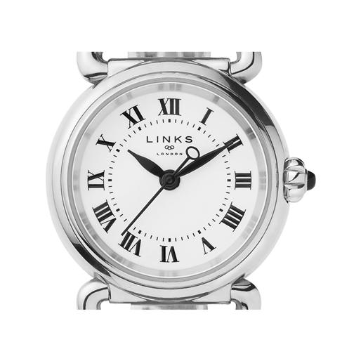 Driver Mini Στρογγυλό Ατσάλινο ρολόι με μπρασελέ-
