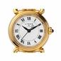Driver Mini Στρογγυλό Επιχρυσωμένο ρολόι με μπρασελέ-