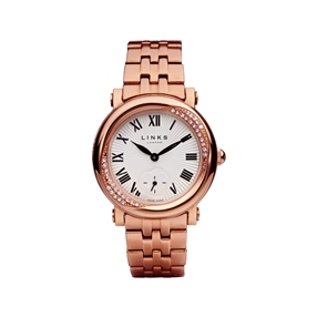 Kindred Soul Stainless Steel & Rose Gold Plate Watch-