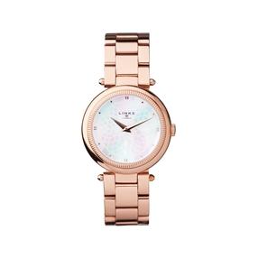 Timeless Rose Gold Tone Bracelet Watch-