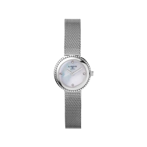 Effervescence Stainless Steel & Mother Of Pearl Chain Watch-